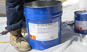 AC•Tech Oil Buster System™ Reclaims Contaminated Concrete Slabs